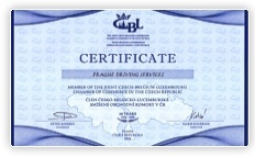 Certificate of CBL